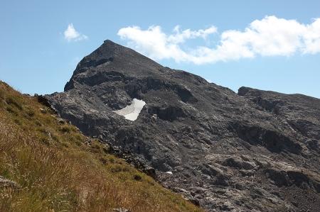 Le Mont Clapier domine le secteur