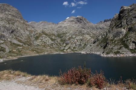 Le lac de la Fous et le Mont Clapier