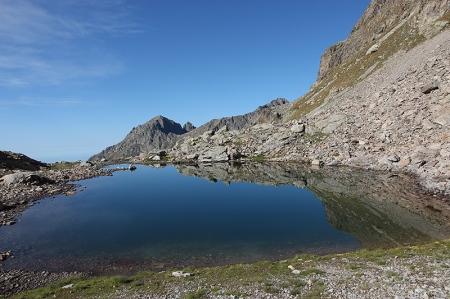 Le premier lac du Mont Clapier