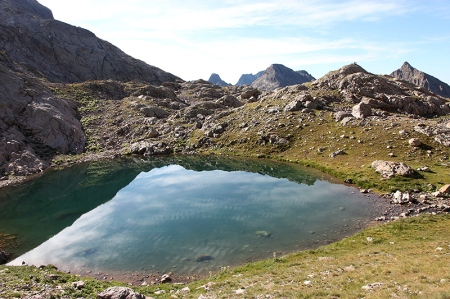 Le second lac du Mont Clapier