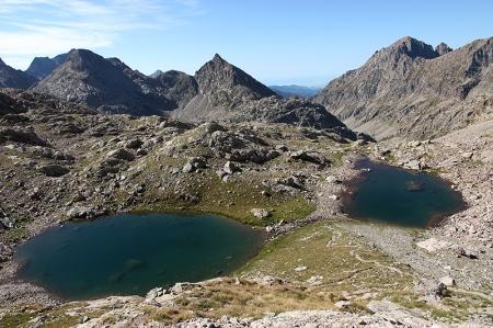 Les lacs du Mont Clapier